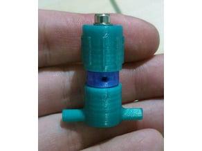 Pneumatic pressure limiting valve