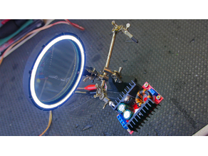Ring Magnifier Light for Soldering Hand Stand Robot
