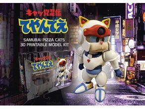 SAMURAI PIZZA CATS - MODEL KIT