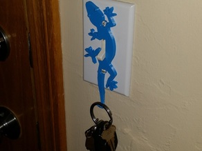 Switchey - The helpful key holding Lizzard