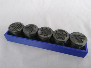 Prop Wax Seal Stamps