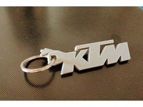 Keychain portachiavi KTM logo