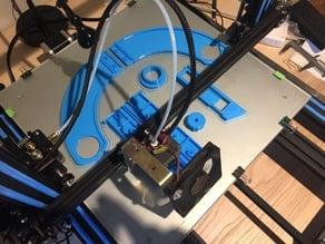 CR10-S4 filament holder + guide