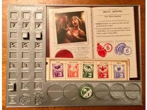 Eldritch Horror Player Board