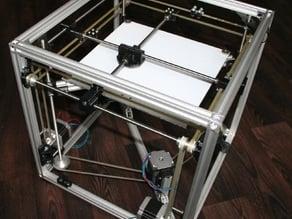 reprap cube - speed optimized, big built aerea, replicating