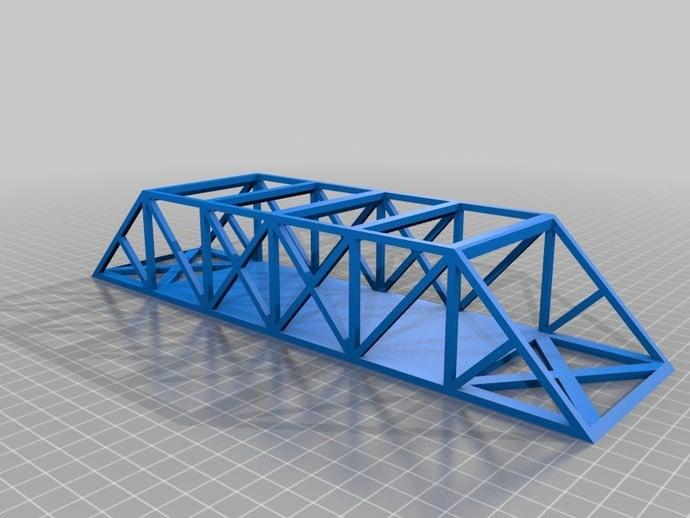 bridge project bridge truss stem project by wongzcms thingiverse