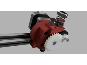 DMK8 Bowden- The Dual MK8 extruder, Bowden version