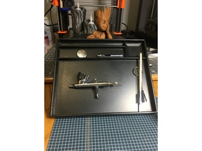 Airbrush Cleaning Tray
