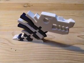 Flexi Spinosaurus Remix