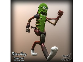 Pickle Rick Sculpt