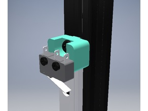 AstroKossel Endstop holder for 2020 openbeam frame