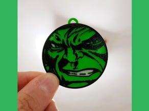 Llavero Hulk