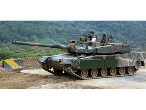 K2 Black Panther w/ Reactive Armor 1:72 or 20mm for Wargaming