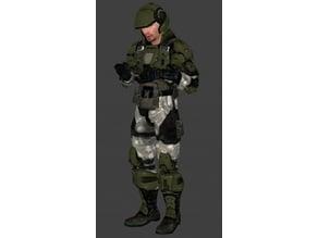 Halo 3 ODST Marine Armour
