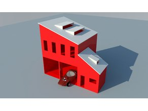 1:64 Fire-Station