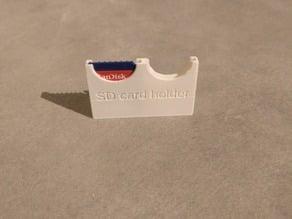 customizable SD card holder (micro, mini and standard)