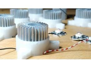 Chip LED Case with Heatsink