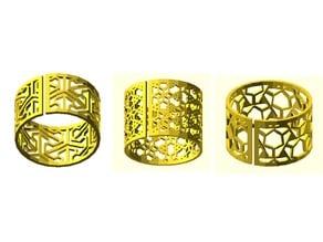 Generalized zentangle bracelet