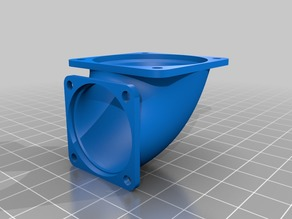 Fan angled reduction 40 30 mm