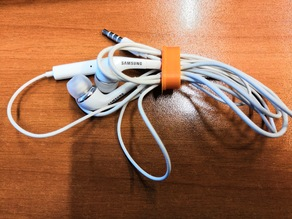 Simple cable organizer