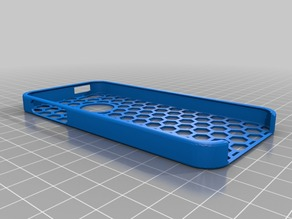 iphone 5 case, honeycomb to put LF