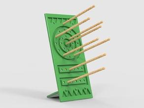 Toothpick Darts Stand