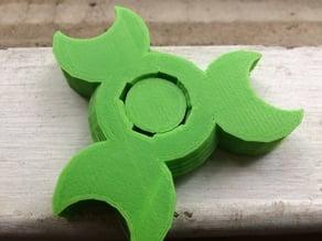 Fully 3D printed bearingless fidget spinner