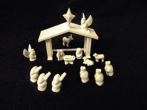 No-Supports Nativity Set