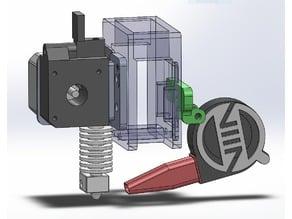 Cooling Fan Mount for LPA Modular X Carriage