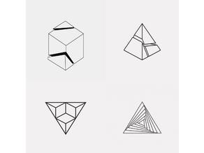 Optical Shapes 2D