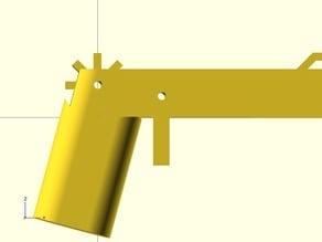 Rubber Band Gun (Full Auto), parametric