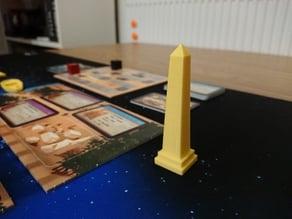 Imhotep Board Game First Player Marker (Obelisk)