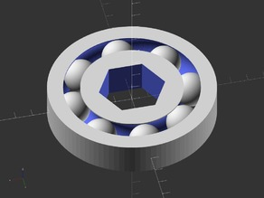 Customizable Ball Bearing Generator