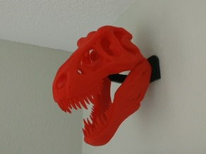 T-Rex Skull Wall Mount