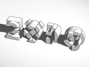 EXPO 2015 - LOGO 3D