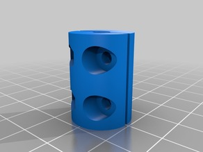 Z-axis coupler 5-5 mm(stepper and threaded rod coupling)