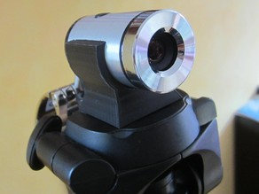 Quick release mount for web cam