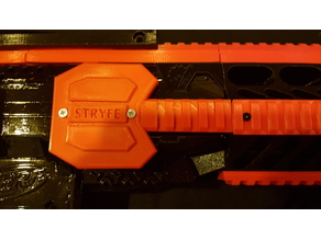 Nerf Stryfe Motor Cover with Rail
