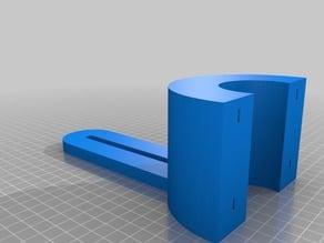 My Customized PVC Pipe Bracket
