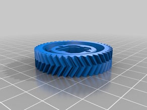 Open RC Truggy Central Diff Herringbone Gear Variations