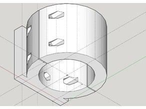 CNC Spindle Mount - 50mm