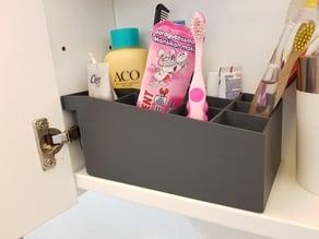 Bathroom cubbard organizer