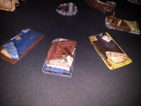 Adventurer's Camp - Bedrolls - 28mm gaming