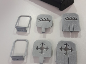 Glock 17 Magazine Marker Clips and Rings