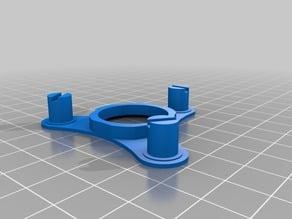 Open wheel four bearing fidget spinner