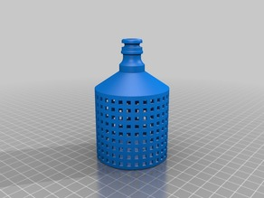 Small Pond/Tank Drain Hose Filter. (Push fit)