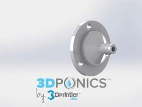 Drip Nozzle (1/8 inch, 3 holes) - 3Dponics Vertical Garden