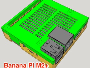 Banana Pi M2+ case