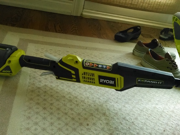 Design Improvement Ryobi String Trimmer Grass Shield by IVIUPPET