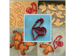 Cookie Cutter Rooster